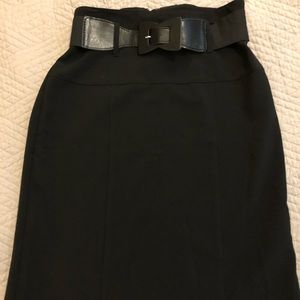 The perfect lil black skirt by Wrapper